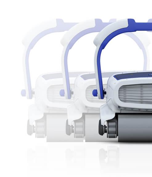 H5 DUO limpiafondos automatico de perfil